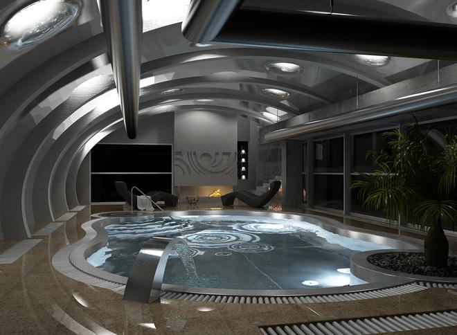 оригинальный бассейн