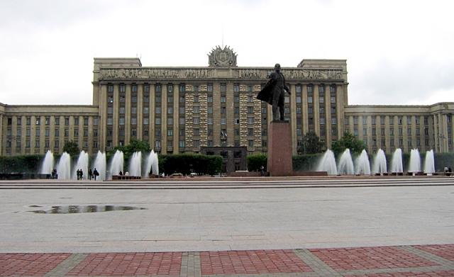 5 крупнейших городских площадей в мире: Московская площадь, Санкт-Петербург, Россия