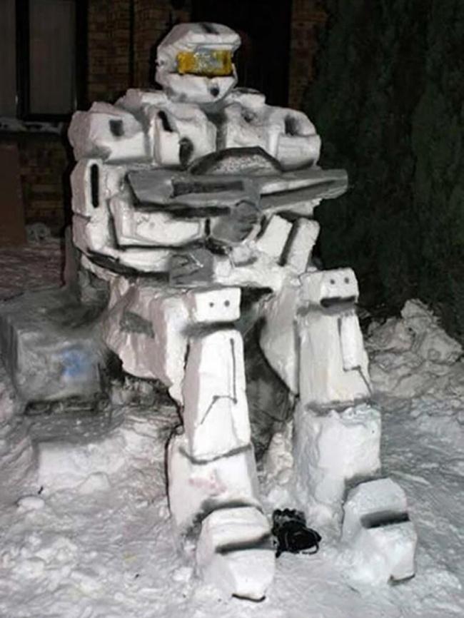 Пришла пора снеговиков