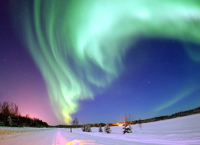 Що потрібно побачити взимку: Північне сяйво в Фінляндії