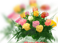 Ніжні квіти до Дня Народження