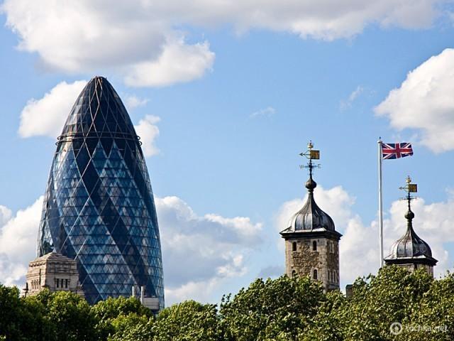 Swiss Re Building - Лондон