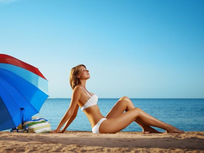 собираясь на пляж, не забудь о защите