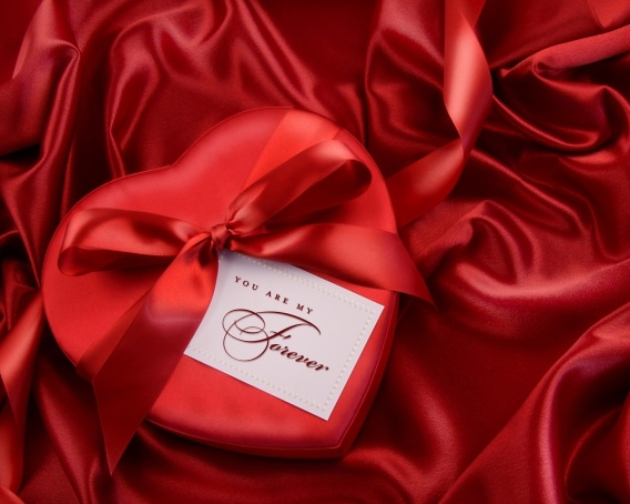 Романтические открытки ко Дню Святого Валентина