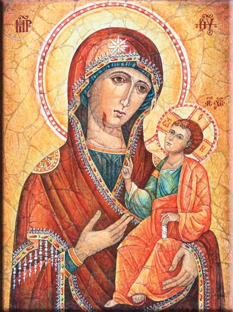 Икона Иверской Божьей Матери фото