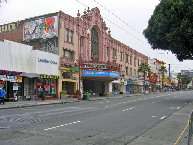 Кинотуризм: Жасмин. Mission District San Francisco