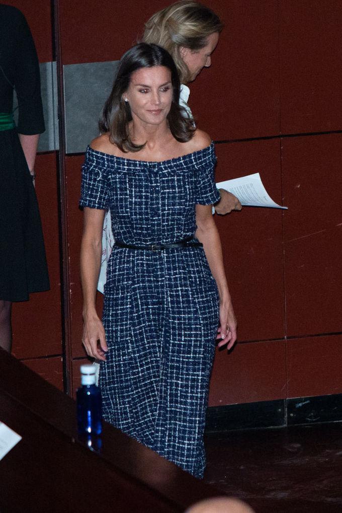Королева Летиция в платье Zara