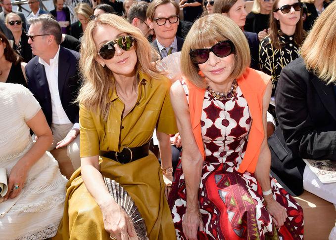 Образы гостей выставки Christian Dior