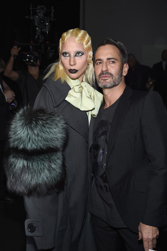 Леди Гага на показе Marc Jacobs
