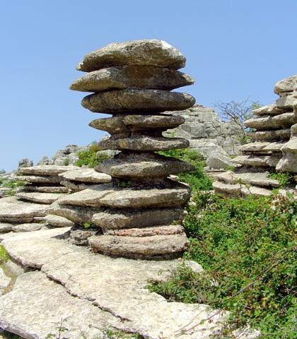 Незвичайні скелі: Ель Торкале де Антекера, Іспанія