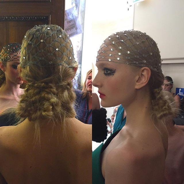 Б'юті-образи з показу Ulyana Sergeenko Haute Couture