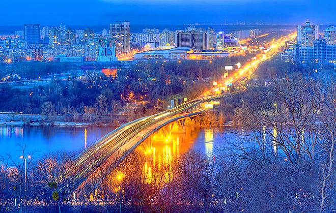Мости України: Київ, Міст Метро