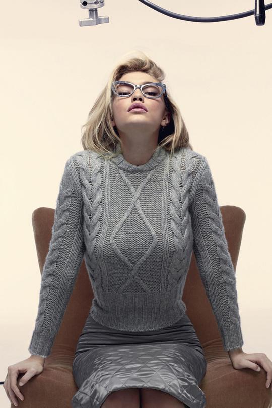 Як Мерилін: Джіджі Хадід в рекламній кампанії Max Mara