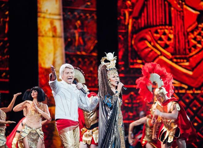 Таисия Повалий выступила в эпатажном образе на сцене Кремля