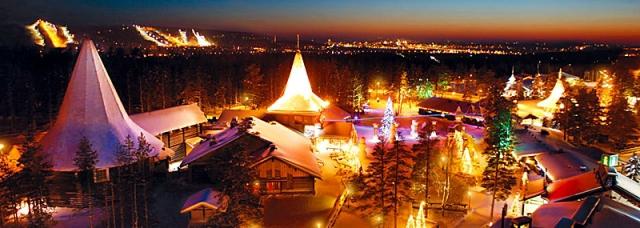 Где встретить Новый год 2013: деревня Санта Клауса