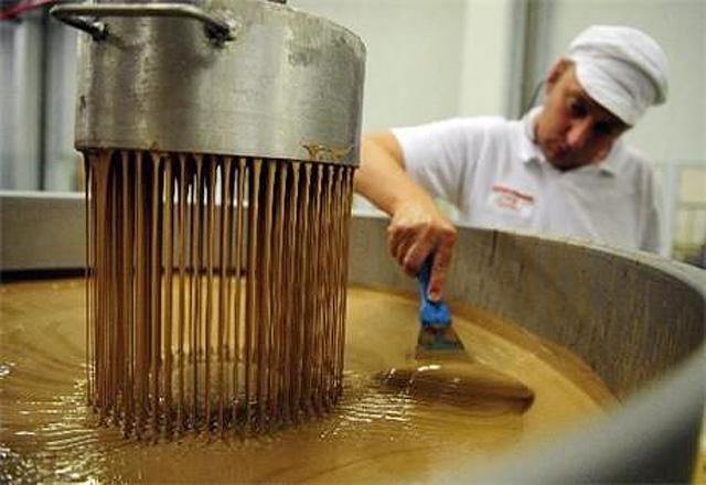Фото шоколадна фабрика (Chocolade Jacques, Бельгія)