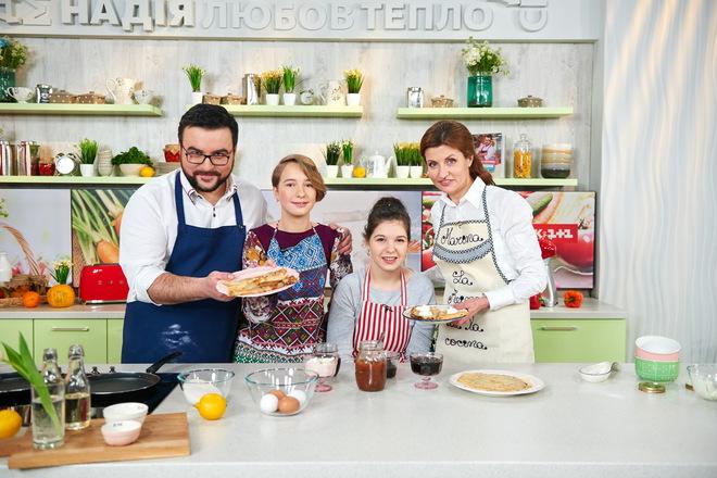 Марія Порошенко на кухні 1+1