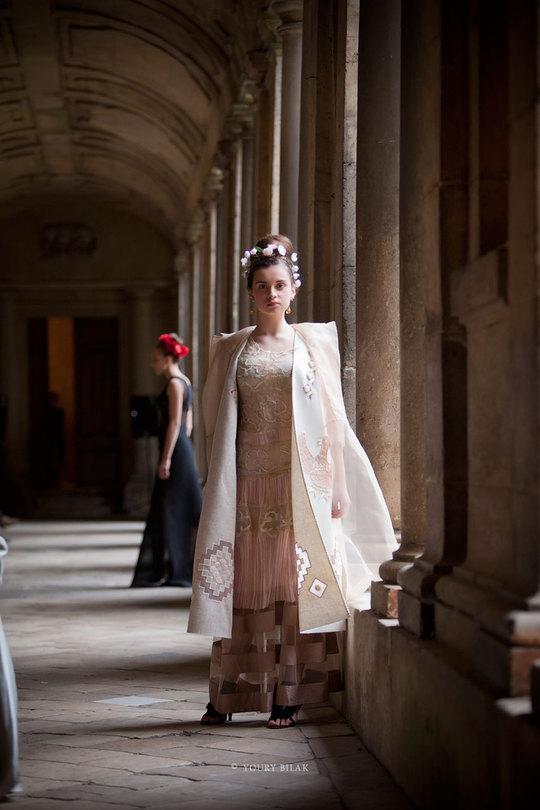 Couture: Оксана Караванська показала у Франції дві колекції