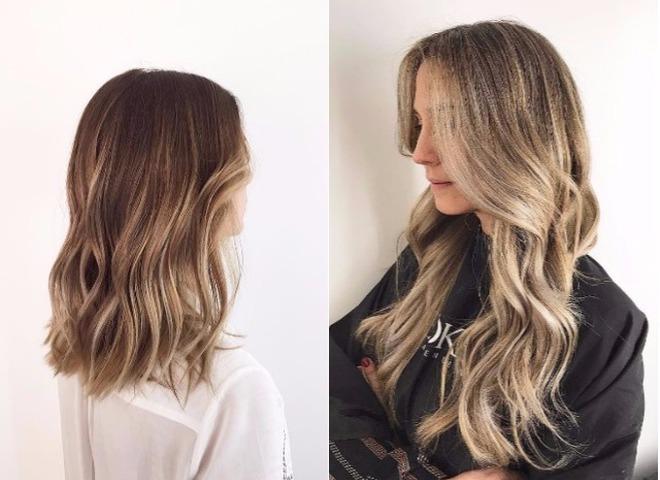 Стробинг волос окрашивание