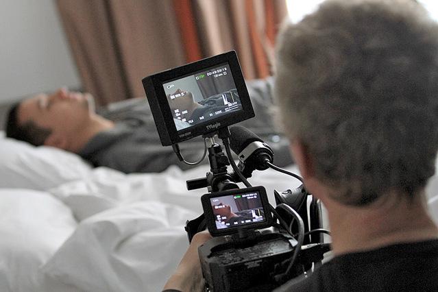 Съемки клипа Стаса Шуринса