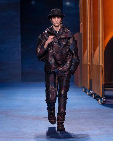 Мужская коллекция Dior осень-зима 2021/22