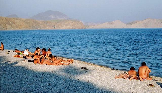 Нудистские пляжи Крыма: Коктебель