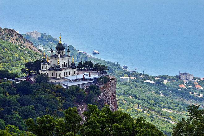 Достопримечательности Крыма: Форосская церковь