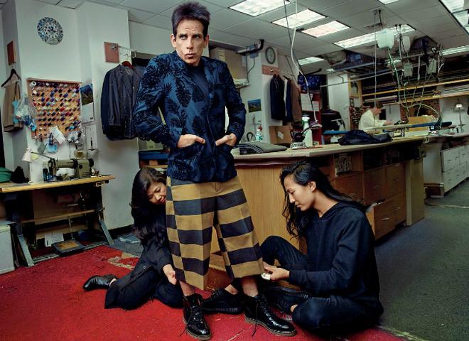 Дерек Зуландер на обкладинці Vogue