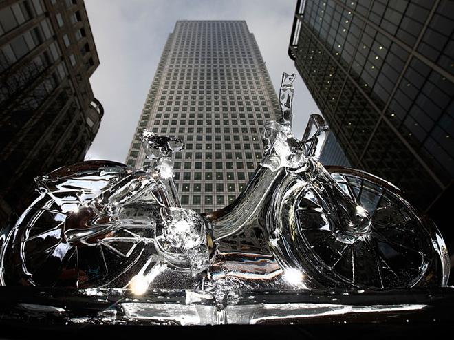 Скульптуры из льда