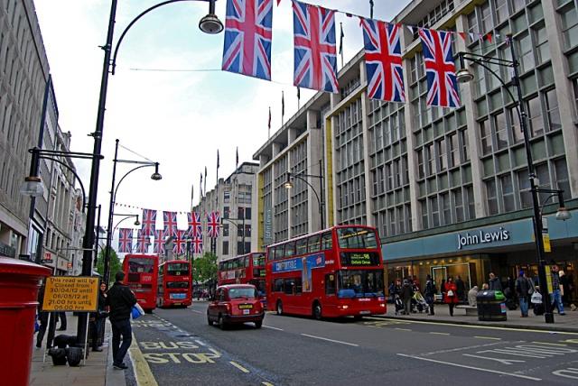 Лондон за два дня: Oxford Street
