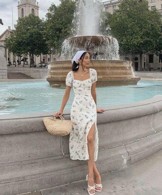 Модные платья на лето