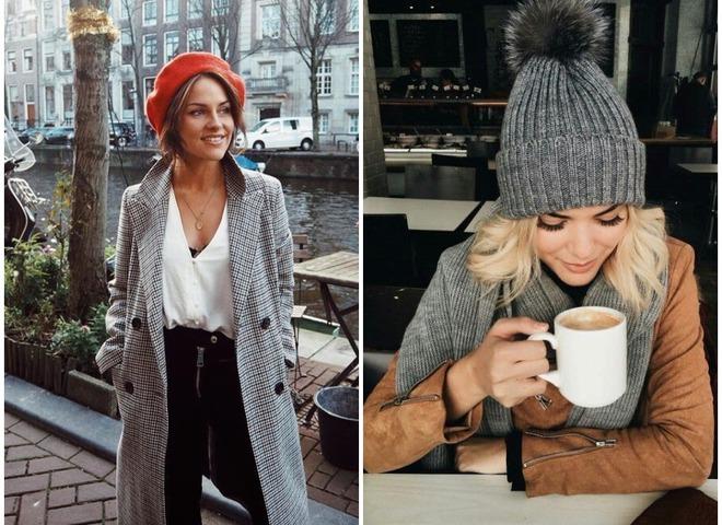 Модные шапки зима 2019
