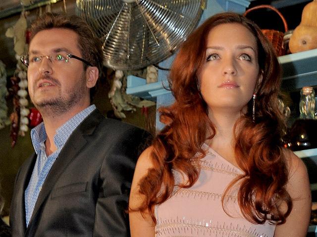 Александр Пономарев с женой Викторией