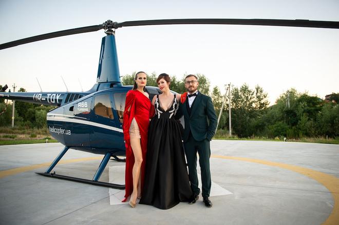Алла Костромичева, Соня Плакидюк и Сергей Никитюк