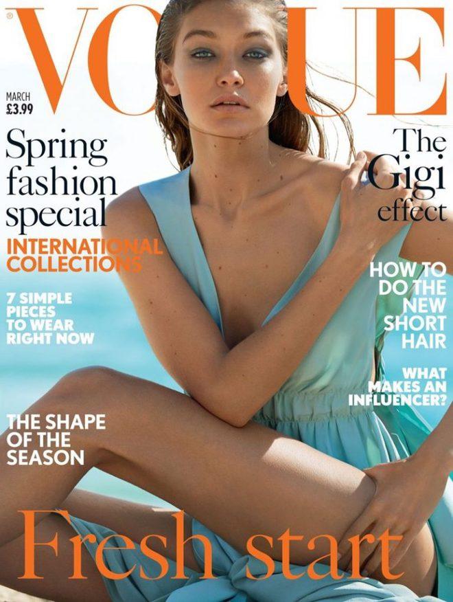 Нові вершини: Джіджі Хадід з братом знялися для Vogue
