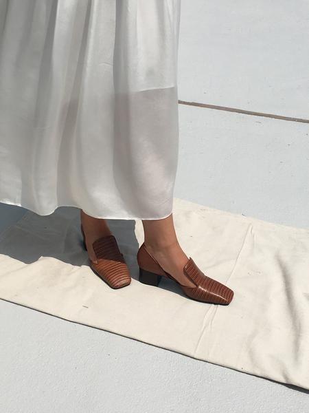 Квадратный носок обувь 2019