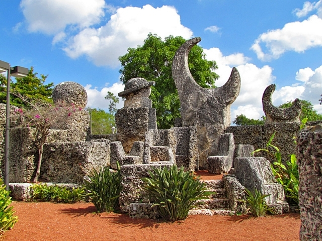 Кораловий замок у Флориді
