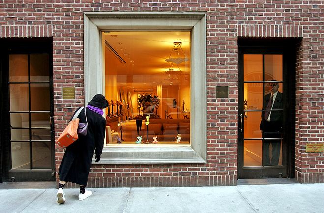 Нью-Йорк с Кэрри Бредшоу: магазин Manolo Blahnik