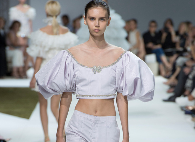 Коллекция Giambattista Valli Haute Couture осень-зима 2016/2017