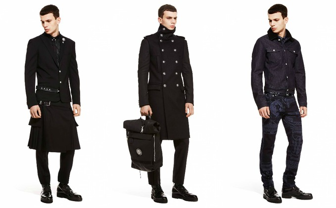 Versus Versace коллаж