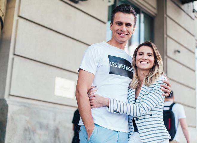 Александр Скичко с супругой