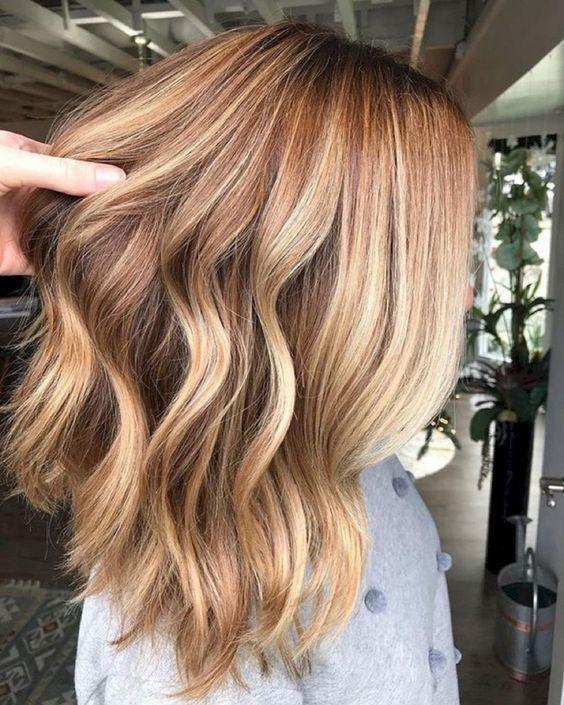 Модное окрашивание на лето для блондинок