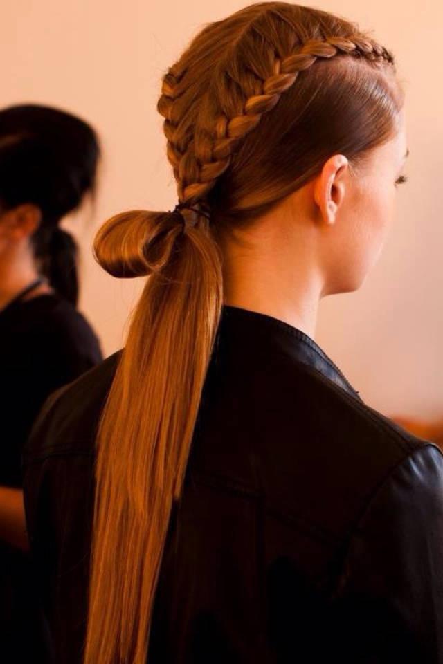 Косы на длинные волосы: модные примеры