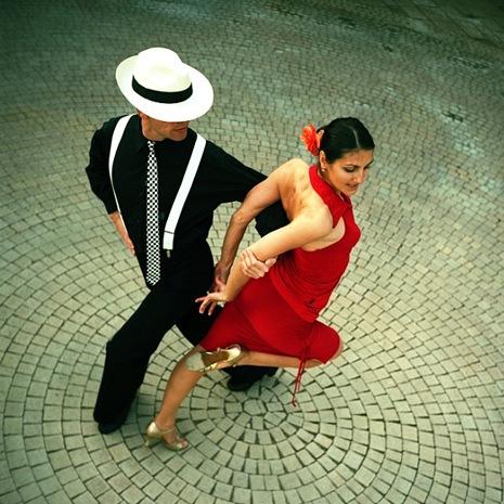 Открытка на День танго