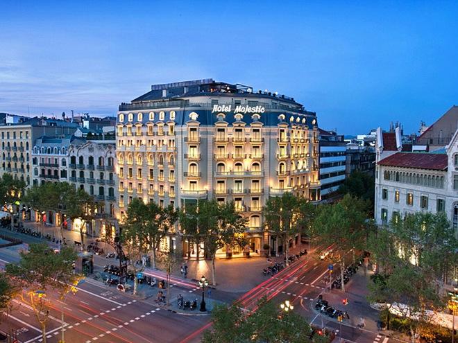 Романтические отели Европы: Majestic Hotel and Spa, Barcelona