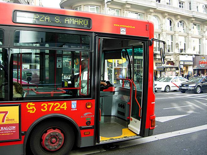 Ціни на транспорт - Мадрид