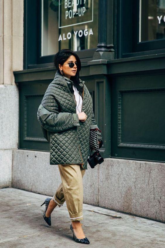 Стьобаний одяг - модний тренд на зиму 2020