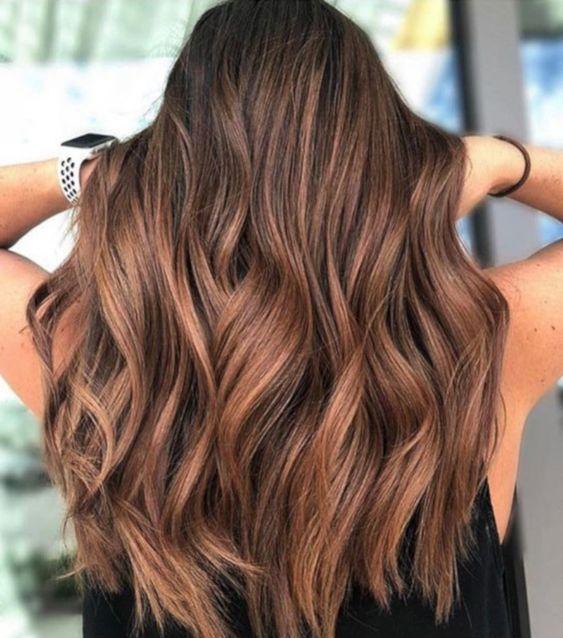 Самое модное окрашивание сезона: корица в волосах