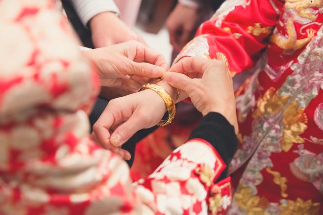 китайське весілля