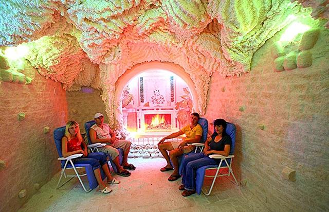 Куда поехать на майские 2012: соляные шахты в Соледаре